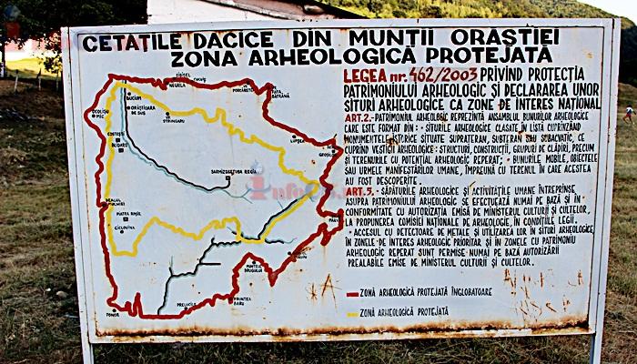 Sarmisegetusa Regia Din Gradistea De Munte Fotogalerie 1 Infocs