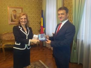 Primar M Stepanescu ambasador
