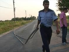 furt de cablu