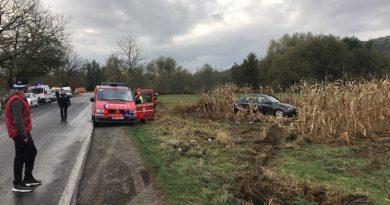 Accident spectaculos pe DN 58 la Voislova cu șofer norocos care a avut zile VIDEO