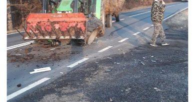 Grav accident de circulaţie pe DN58 intre Brebu şi Cornutel VIDEO