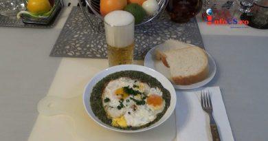 Urzici cu spanac, drese cu leurda şi ochiuri de ouă VIDEO
