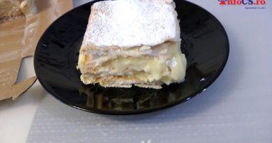 Crempita sau cremschnit, ori crèmes, ca în Banatul Montan VIDEO