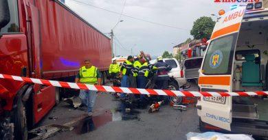 Al doilea accident grav pe ziua de azi – Un bărbat de 34 de ani a murit strivit VIDEO