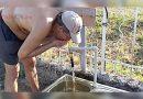 Apa moartă din fântânile satenilor şi apa vie de la biserica din Rusova Veche din Caras Severin VIDEO