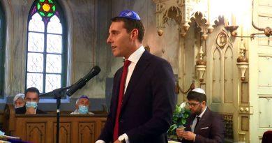 Prințul Nicolae invitat de onoare la Caransebeș, cu ocazia noul an evreiesc VIDEO