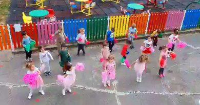 Ziua Europeană a Sportului Școlar marcată la Gradinița Floarea Soarelui din Resita VIDEO