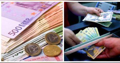 Ce se întâmplă cu banii? Euro a înghețat la 4,874 lei