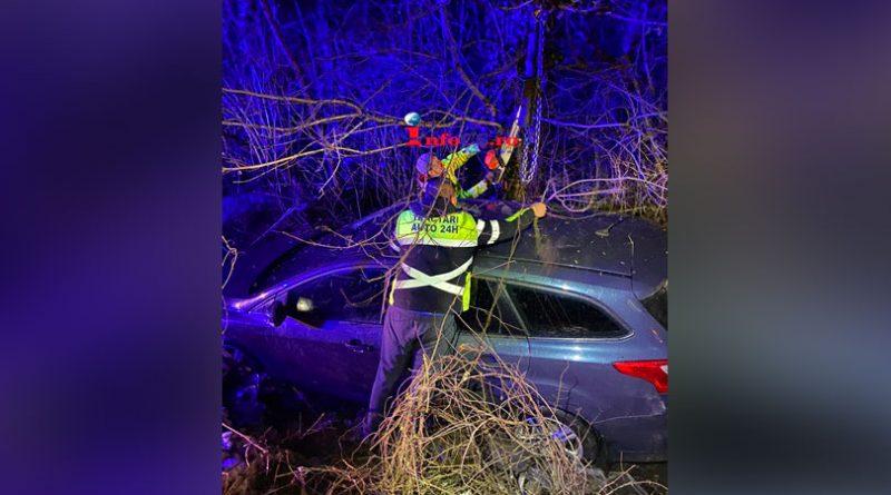 Al treilea accident in doua zile pe același tronson de drum dintre Calnic și fostul abator