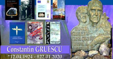 In memoriam Constantin Gruescu la un an de la trecerea la cele veșnice VIDEO