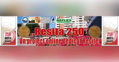 """""""Reșița 250"""": Din 3 februarie, etapa a IV-a de întrebări privind istoria, cultura, sportul și mediul înconjurător"""