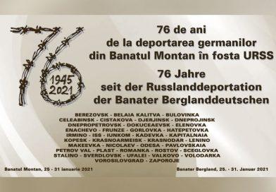 76 de ani de la deportarea germanilor din Banatul Montan în URSS