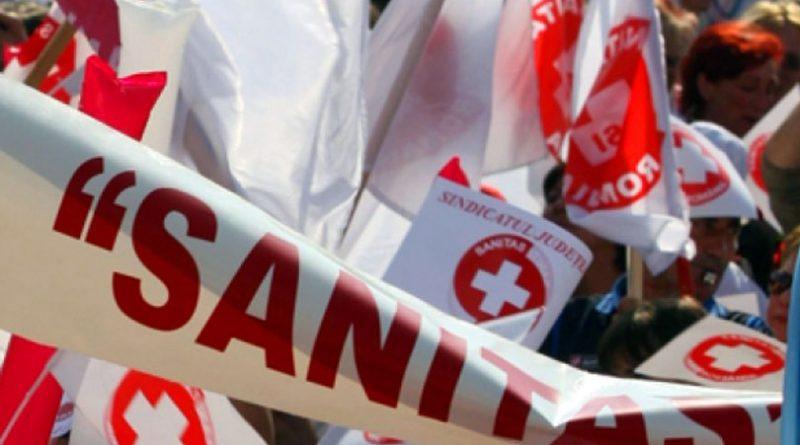 """Proteste la Reșița –  """"Solidaritatea Sanitară"""" protestează  în toată țara"""