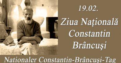 Expoziție omagiala Brâncuși la sediul Bibliotecii germane din Reșița
