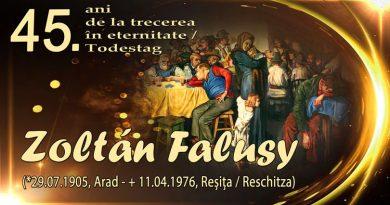 Expoziție de artă plastică în amintirea lui Zoltán Falusy