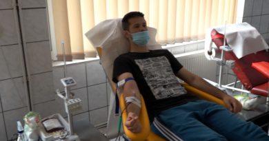 Ziua Mondială a Donatorului de Sânge marcată la Reșița printr-o acțiune de donare VIDEO