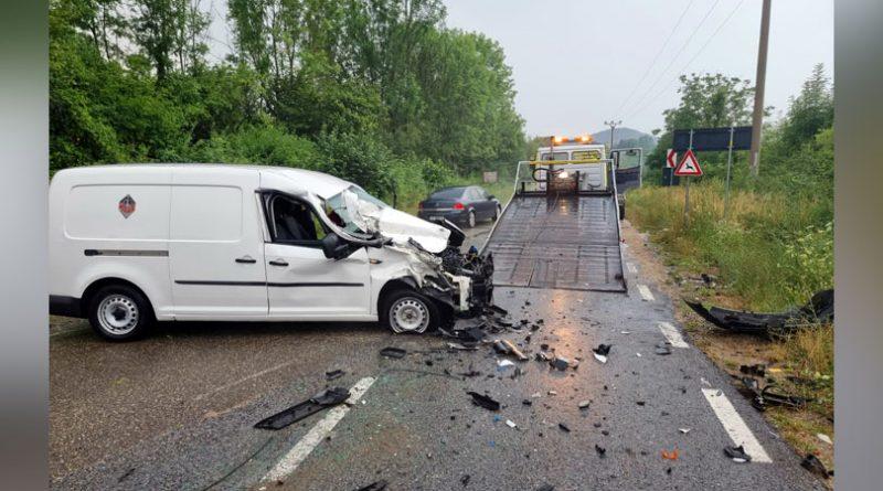 Grav accident de circulație în Crucea Dognecei