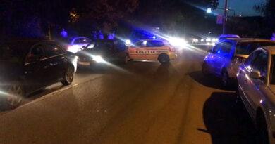 Accident carambol pe B-dul Muncii din Reșița zona parcului de la Intim VIDEO