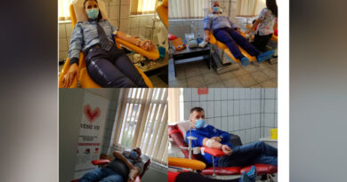 Polițiștii au donat sânge pentru semenii lor – Acțiune pentru susținerea sănătății și a vieții!